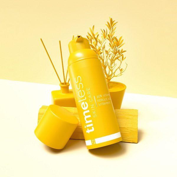 Serum Trị Thâm Trắng Da Timeless 20% Vitamin C + E + Ferulic 30ml - Skin365 Mỹ phẩm chính hãng
