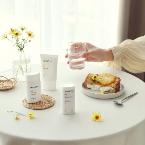 Kem Chống Nắng Innisfree Daily Sensitive Sunscreen SPF50+ PA++++ 50mL
