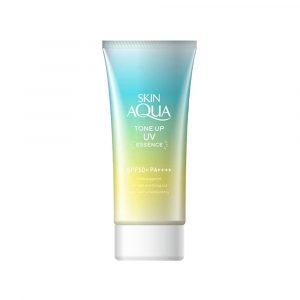 Skin-Aqua-Tone-Up-UV-Essence-SPF50-PA-80g-Mint-Green.jpg