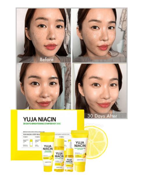 Bộ Dưỡng Sáng Some by Mi Yuja Niacin 30 Days Brightening Starter Kit 4 Món