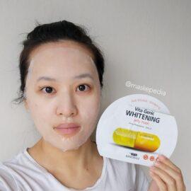 Hộp 10 Miếng Mặt Nạ BANOBAGI Vita Genic Jelly Mask - Whitening