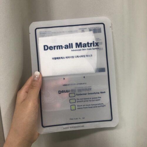 Mặt Nạ Thải Độc Derm.all Matrix Epidermal Detoxifying Mask 23mL