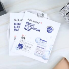Combo 10 Mặt Nạ Dưỡng Trắng SUR.MEDIC+ Bright-Glutathione Mask