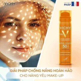 Xịt Chống Nắng ViChy Ideal Soleil Haute Protection SPF50 75mL