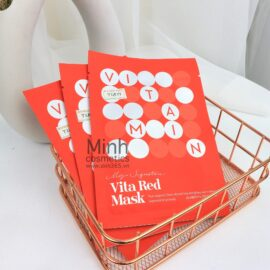 Mặt Nạ Dưỡng Sáng Mờ Thâm Tia'm My Signature Vita Red Mask 23mL