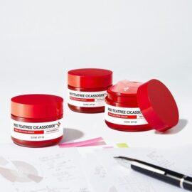 Kem Dưỡng Trị Mụn Cho Da Nhạy Cảm Some By Mi Red Teatree Cicassoside Final Solution Cream 60g