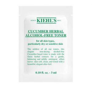 Nước Hoa Hồng Kiehl's Cucumber Herbal Alcohol-Free Toner 3mL