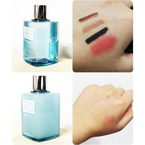 Tẩy Trang Mắt Môi The Face Shop Herb Day Lip & Eye Makeup Remover 130mL