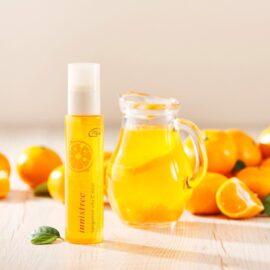 Xịt Khoáng Cấp Ẩm Dưỡng Sáng Da Innisfree Tangerine Vita C Mist 80mL