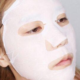 Mặt Nạ Gạo Dưỡng Trắng 9Wishes Rice Water Sheet Mask 25mL