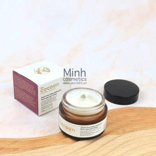 Thạch Hoa Hồng Dưỡng Ẩm Cocoon Rose Aqua Gel Cream 30mL