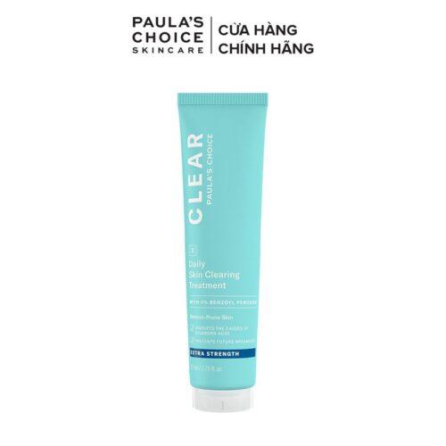 Kem Chấm Mụn Paula's Choice Clear Regular Strength Daily Skin Clearing Treatment With 2.5% Benzoyl Peroxide 67mL
